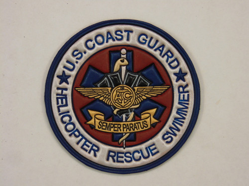 US COAST GUARD HELICOPTER RESCUE SWIMMER 4""