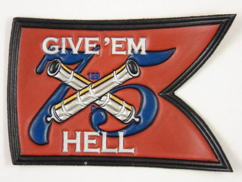 HARRY S TRUMAN BATTLE FLAG fc (SECOND)