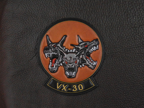 VX-30 BLOODHOUNDS  Classic Embossed Leather