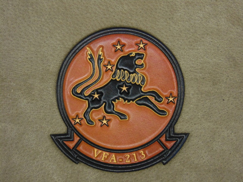 VFA-213 BLACKLIONS  VC Embossed