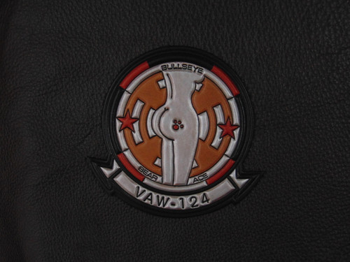 VAW-124 BEAR ACES Molly Patch  Classic Embossed