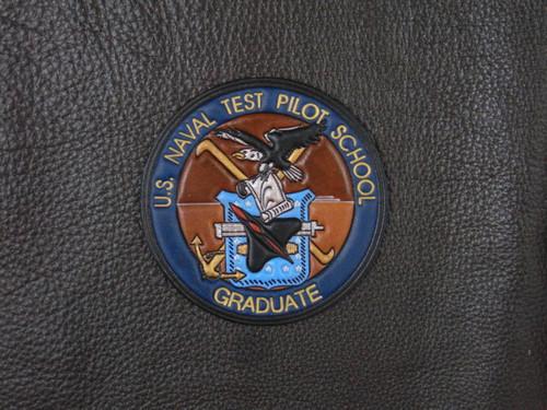 US NAVAL TEST PILOT GRAD   USNTPS  Blue Banner