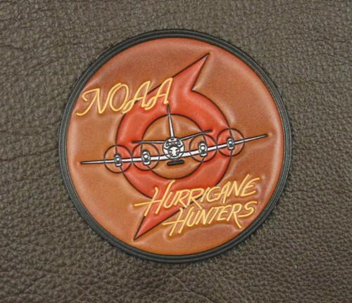"NOAA  HURRICANE HUNTERS VC  4""round"