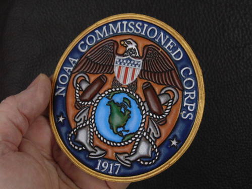 NOAA Commissioned Corps  VC Classic Embossed