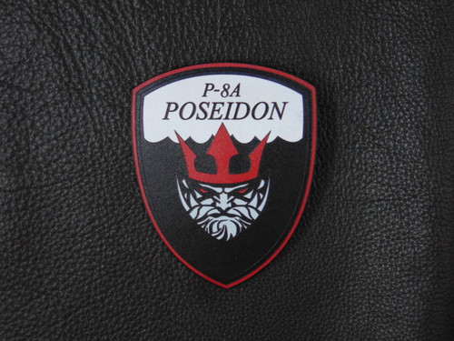 P-8A POSEIDON Red n Black  Pro Line  Leather