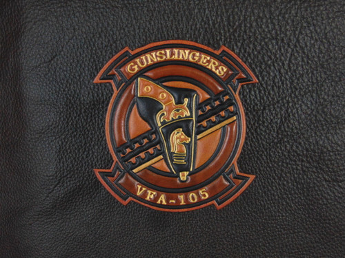 VFA-105 Brown tone  Classic Embossed