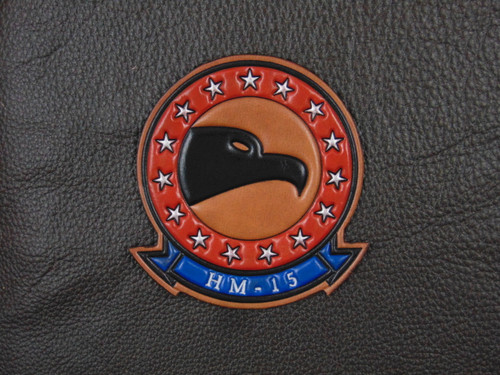 HM-15  Classic Embossed  Chest patch  VC