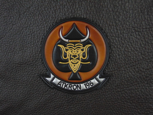 VA-196 ATKRON  Vintage color Embossed