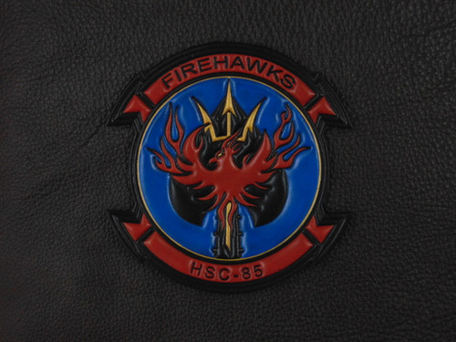 HSC-85 FireHawks Classic Embossed full color