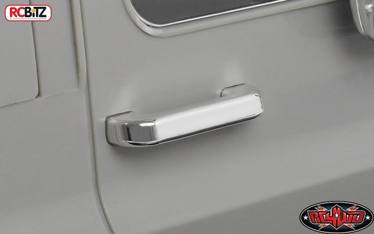 RC4Z-B0104 Chevrolet Blazer Chrome Handles and LED Holder Parts Tree RC 4WD