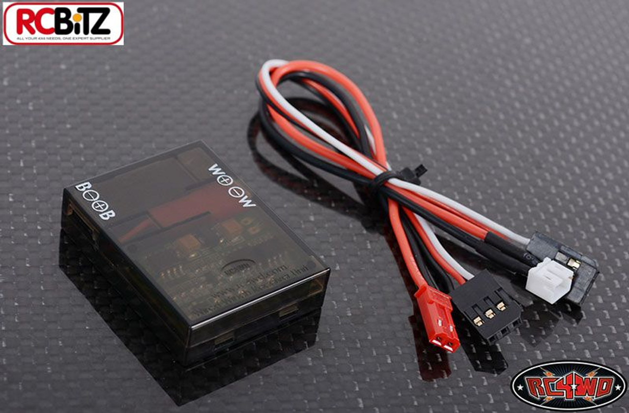 WARN RC4WD Wired Winch Control Unit for 9.5cti Scaler winch wires inc on