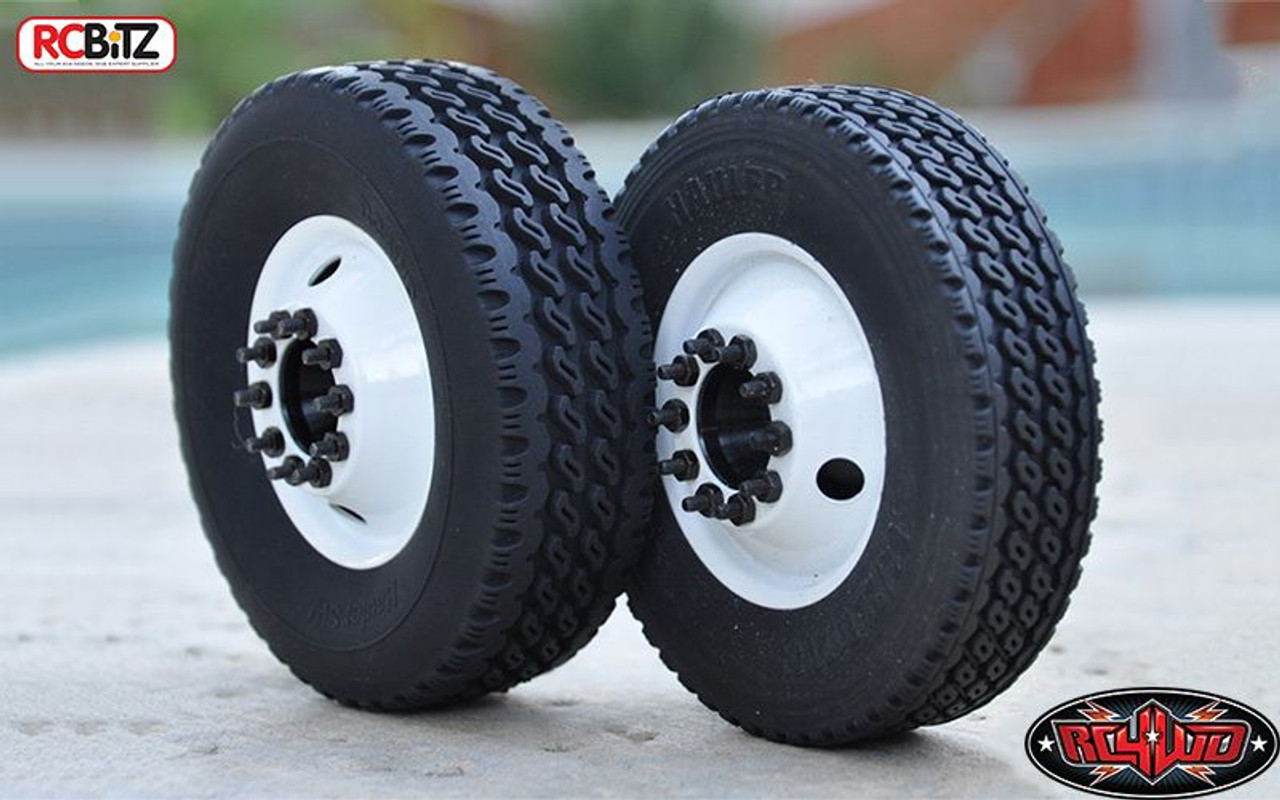 Semi Truck Tires Near Me >> Hauler Super Wide 1 7 Commercial 1 14 Semi Truck Tires Lorry Tyre Tamiya Z T0071
