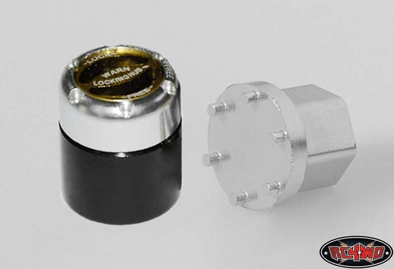 RC4WD Z-S0720 1//10 Warn Scale Manual Locking Hubs