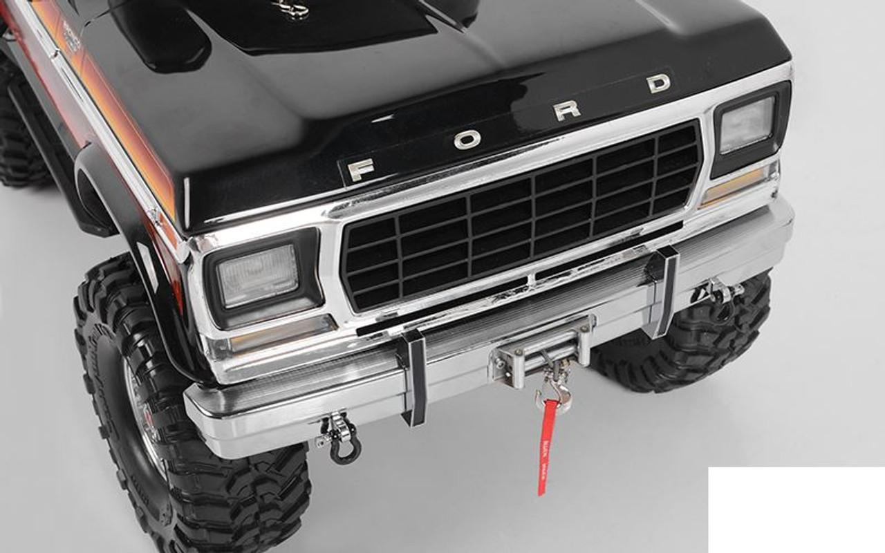 Tough Armor Metal Stock Front Bumper for TRX4 Bronco Z-S1946 RC4WD TRX-4 TRX 4