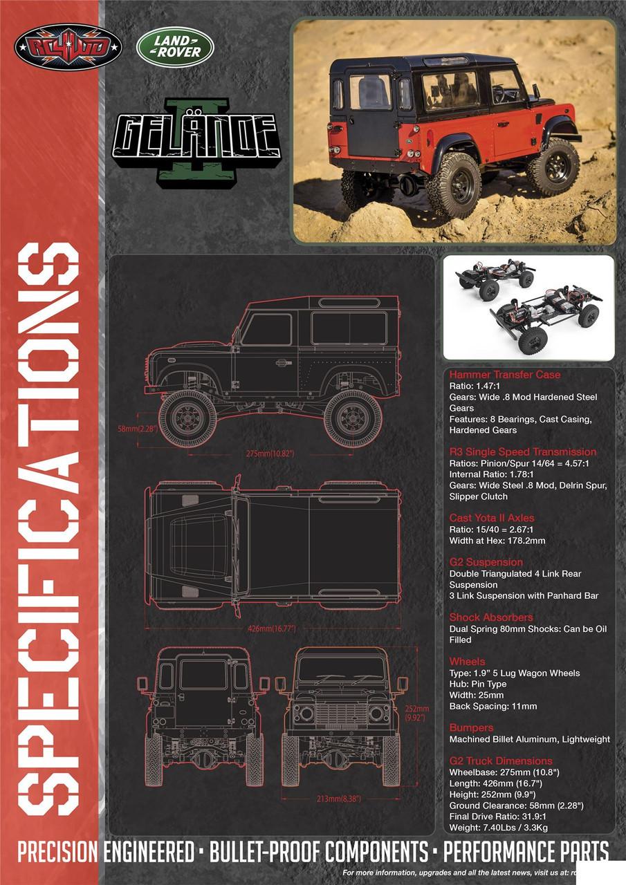 1//10 4WD RC Electric Buggy Modellteile Batteriekastenhalter für RC4WD D90