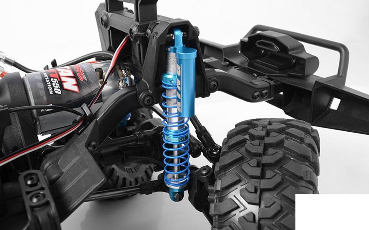 RC Car Model for 1//10 RC Car Alinory Sturdy Negative Pressure Shock Struts Damper blue RC Upgrade Parts Metal 100mm RC Car Shock Damper