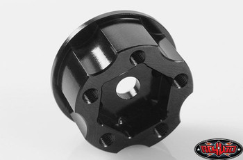 "1.9"" 2.2"" 5 lug Wagon Steel Wheel 12mm Hex Hub + 6 mm Offset RC4WD Z-S1276 RC"