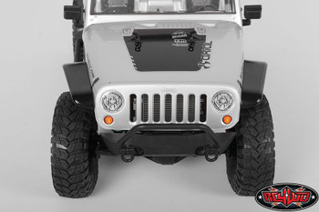 Aluminum Tube Front Fender for Axial Jeep Rubicon BLACK RC4WD Z-S1152 Direct fit