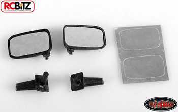 Mirror for Tamiya Hilux Bruiser RUBBER Mojave TF2 TF2 FlEXIBLE VVV-C0034 RC4WD