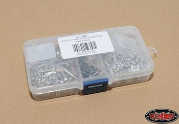 Scaler & Crawler Screws & Support Bag SILVER M3 Washer Nuts Screws Bolts Z-S0445
