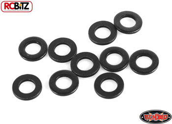 RC4WD M3 Flat Washer BLACK Z-S0909 Spacer TF2 G2 RC Metal Packer Shim