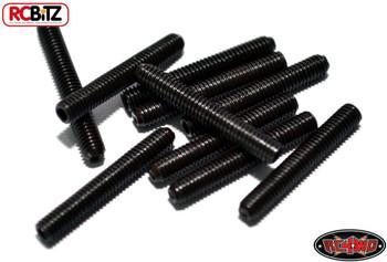 M3 x 20mm Set Screw 10 BLACK Hex RC4WD Z-S0010 Suspension Rod end Metal