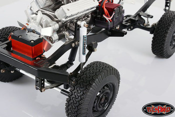 RC4WD Superlift SUPERIDE 100MM SCALE SHOCK Absorbers Shocks WHITE Z-D0032