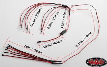 12 LED Basic Lighting System For RC4WD Toyota Land Cruiser Body FJ40 Z-E0071