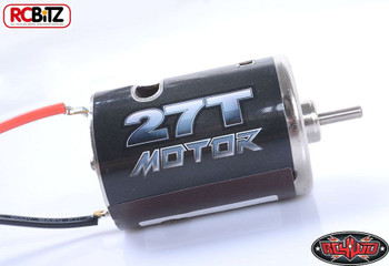540 Crawler Scaler Brushed Motor 27T Pre Wired Bullet Connection Plugs Z-E0067