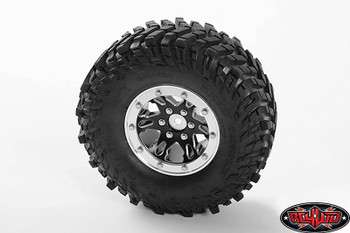 Black 1.9 Universal Beadlock Wheel D1 Z-W0177 RC4WD Moduler BUILD YOUR WAY