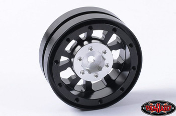 Black 1.9 Universal Beadlock Wheel D2 Z-W0181 RC4WD Moduler BUILD YOUR WAY