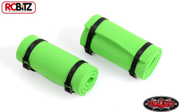 1/10 Scale Sleeping Roll Mat w/Straps GREEN Z-S1300 RC4WD Black straps 10th Toy