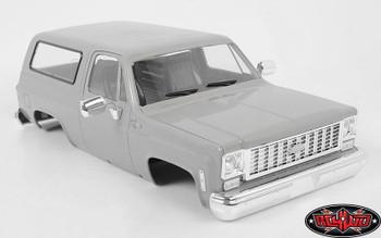 Chevrolet K5 Blazer Main Body ONLY Grey RC4WD TF2 Z-B0116 RC Cab Chevy