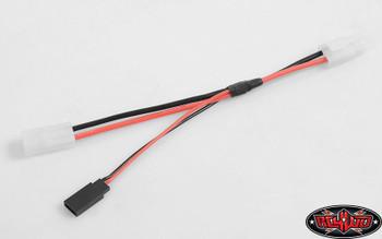 Y harness Tamiya Connector  Lightbars Lighbar Power Tap Lead RC4WD Z-S1601