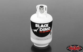 Black Dino TOY 10th Aluminum Propane Tank Gas Bottle WHITE RC4WD Z-S1613 RC