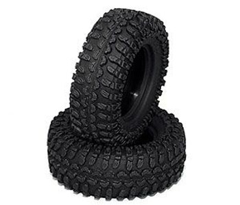 "Rok Lox Micro Comp 1.0"" Tires 18th Scale D90 Gelande +Foams RC4WD Z-T0028 Tyre"