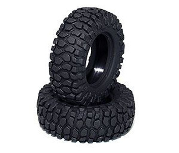 "Rock Crusher Micro Crawler Tires 18th Scale 1.0"" D90 Gelande RC4WD Z-T0027 Tyre"