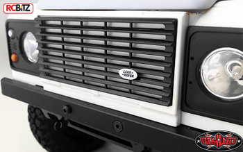 TOY Land Rover Emblem for Defender D90 Body WHITE Logo Badge Sticker VVV-C0202