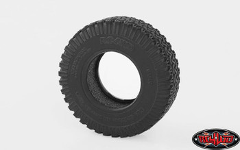"Dirt Grabber 1.0"" All Terrain Scale Tires 18th RC Micro Tyre RC4WD Z-T0142 PAIR"