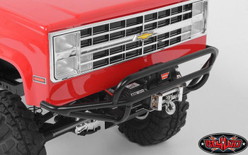 Tough Armor Tube Front Winch Bumper for Vaterra Ascender METAL RC4WD Z-S1575