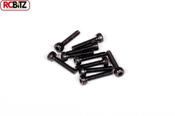 M2 x 10mm Cap Head BLACK 10 Wraith SCX10 AXA015 Diff Gear & Cover Beadlock
