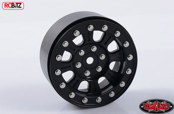 "RC4WD Raceline Monster 2.2"" Beadlock Wheels BLACK Hex Mount Z-W0193 Bomber RC"