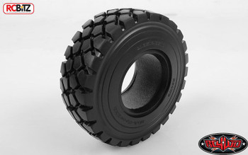 """Military Spec ZXL 1.9"""" Tyres 2 RC4WD with Foams great on heavy truck Z-T0075 6x6"""