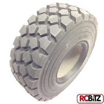 "Military Spec ZXL 1.9"" Tyres 2 RC4WD with Foams great on heavy truck Z-T0075 6x6"