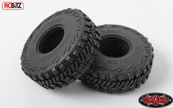 """RC4WD Goodyear Wrangler MT/R 2.2"""" Scale Tires Wraith Bomber Z-T0153 Tall Tire RC"""