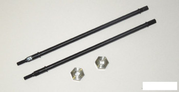 HD Wide Centered Rear Diamond Axle Shafts for Axial Yeti SSD00084 SSD-RC shaft