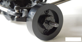 Brass Wheel Weights 2 112g SCX10 II for PRO Knuckle & Lockout SSD00140 weight