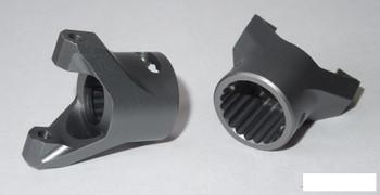 Pro Aluminum C Hubs for Wraith RR10 GREY SSD00107 Steering Hub C-Hub AR60
