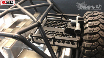 JK Swing Out Rear Tire Rack Tyre Dinky RC EASY assembley inc ramps RR005