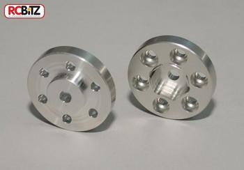 "OEM 2.2 HEX Adaptor conversion for RC4WD OEM steel wheels EASY change 2.2"" Z-S0187]"